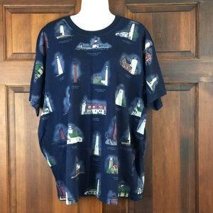Lighthouse Women's t-shirt Size XL